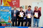 José Eduardo Martinez won blitz tournament of Moscow Open 2020